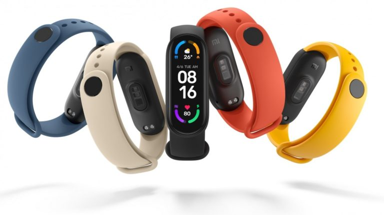 """Mi Smart Band 6 Launched –  Features """"Full-Screen"""" 1.56-inch AMOLED Display and SpO2 Sensor"""