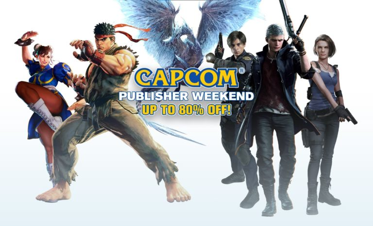 Capcom Steam Sale – Resident Evil, DMC 5, Monster Hunter and More Games Discounted