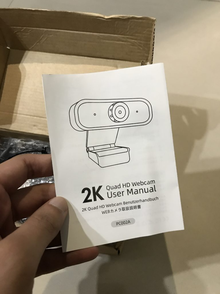 Paperwork included in the box is limited to the User Manual which you won't require.
