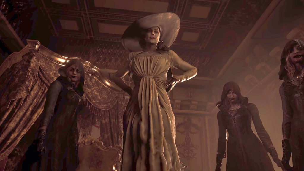 Lady Dimitrescu And Cronies - Resident Evil VIllage