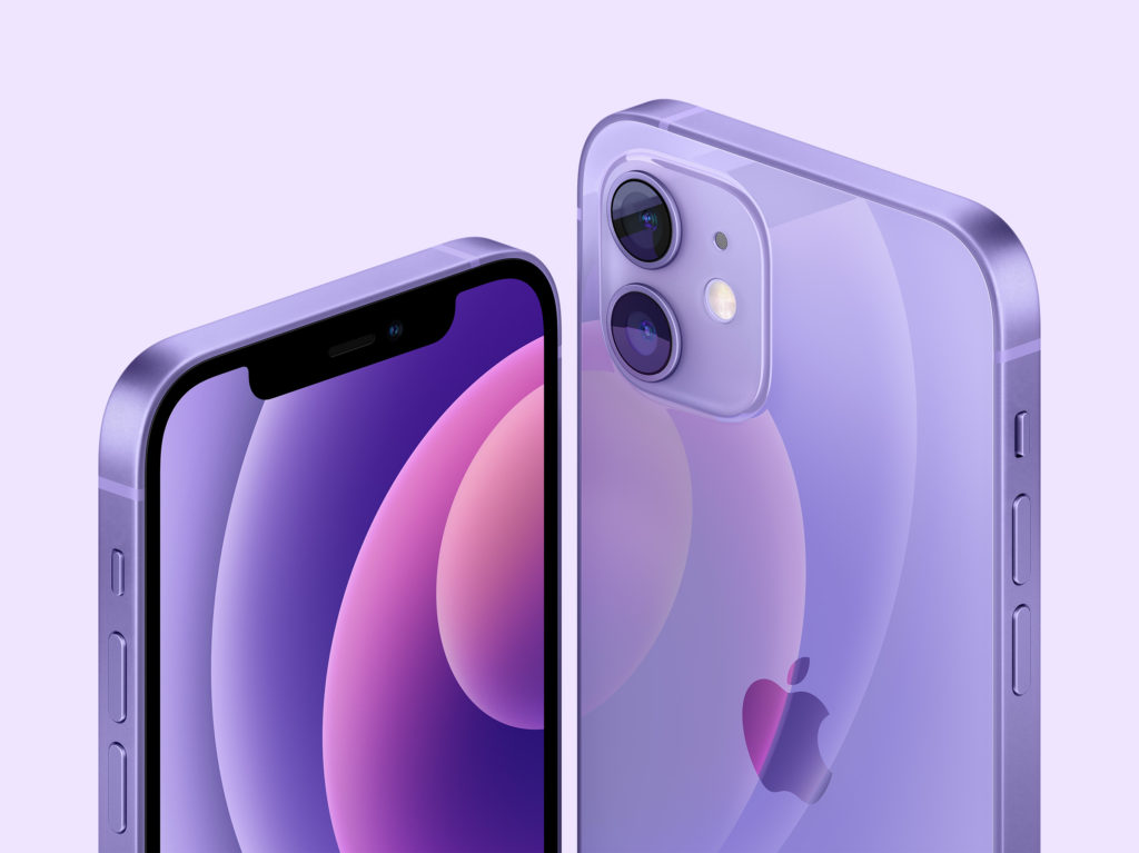 The iPhone 12 and 12 mini now comes in Purple