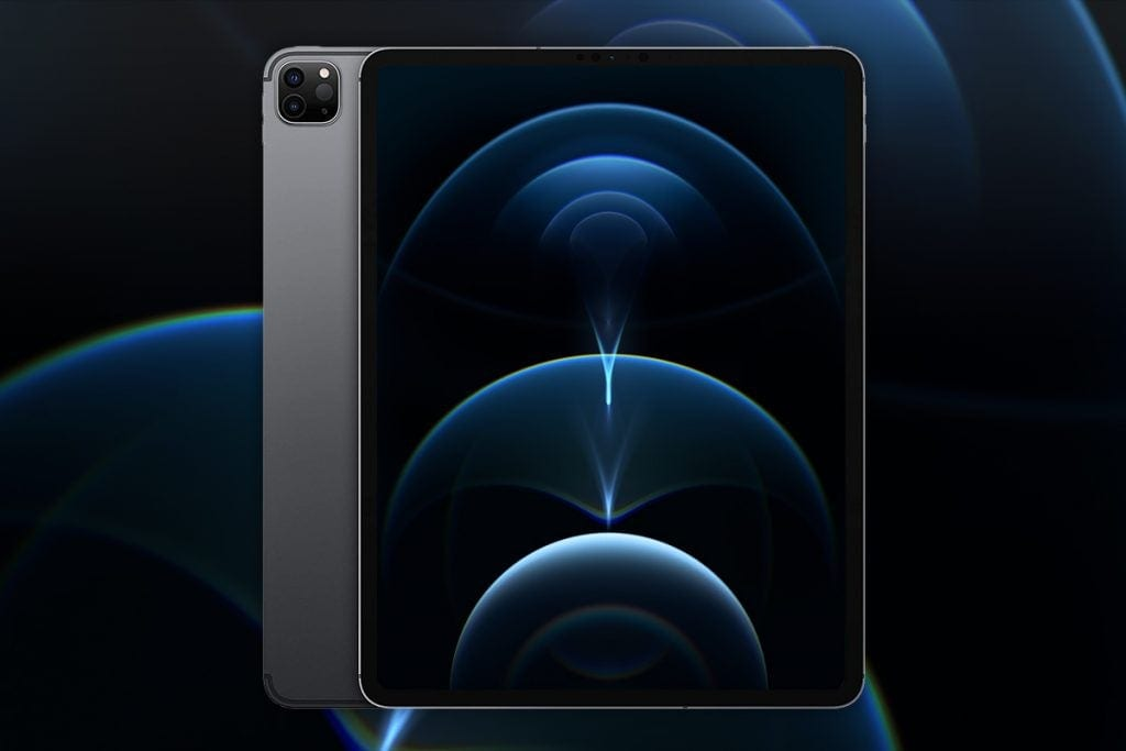 iPad Pro uses a dual camera system derived from the iPhone line-up
