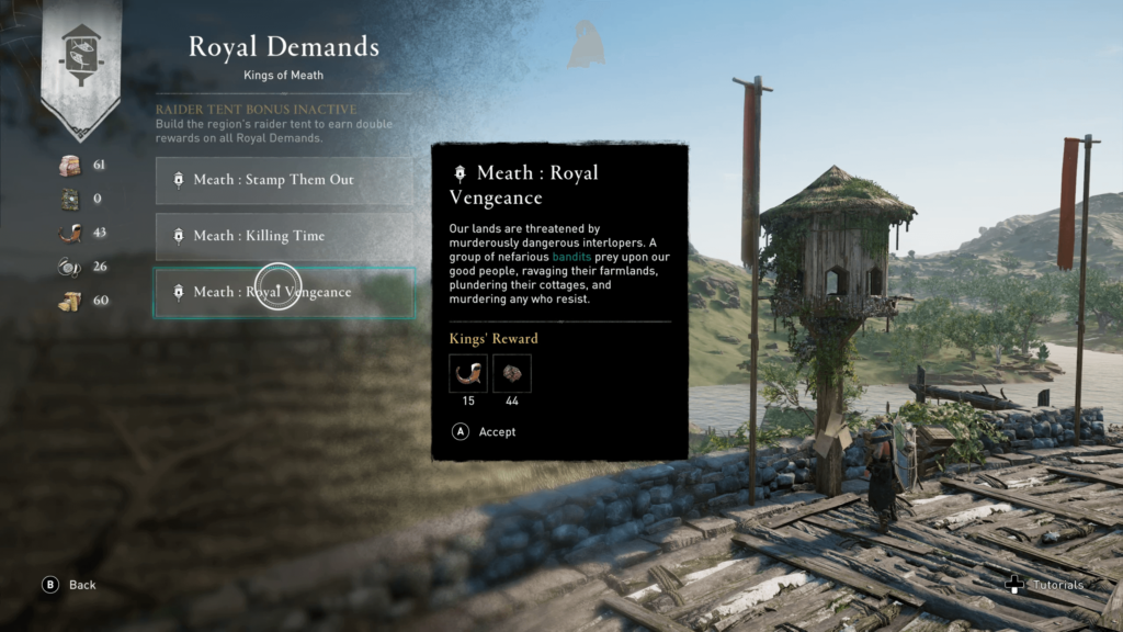 Pigeon Coops in Assassin's Creed Valhalla Wrath of The Druids
