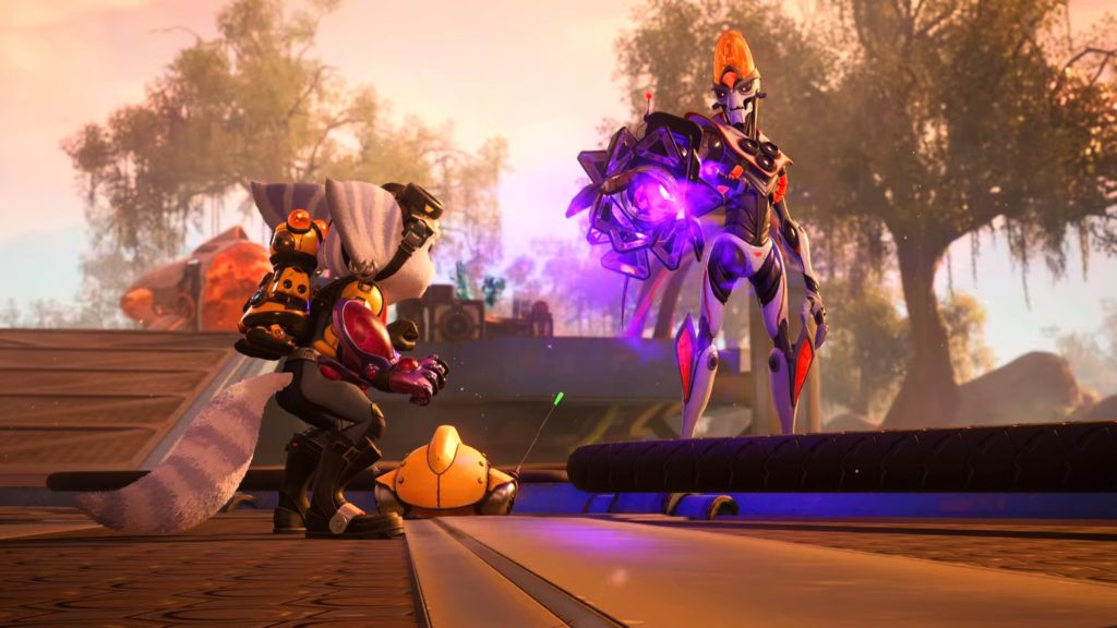 Nefarious in Ratchet and Clank Rift Apart PS5