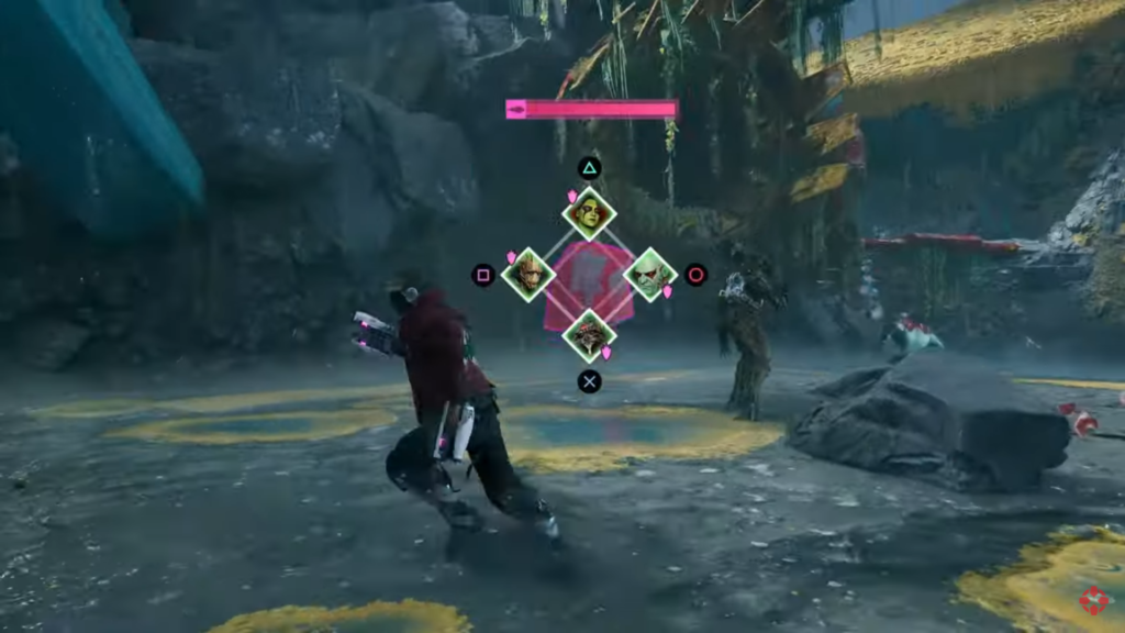 Guardians of the Galaxy combat
