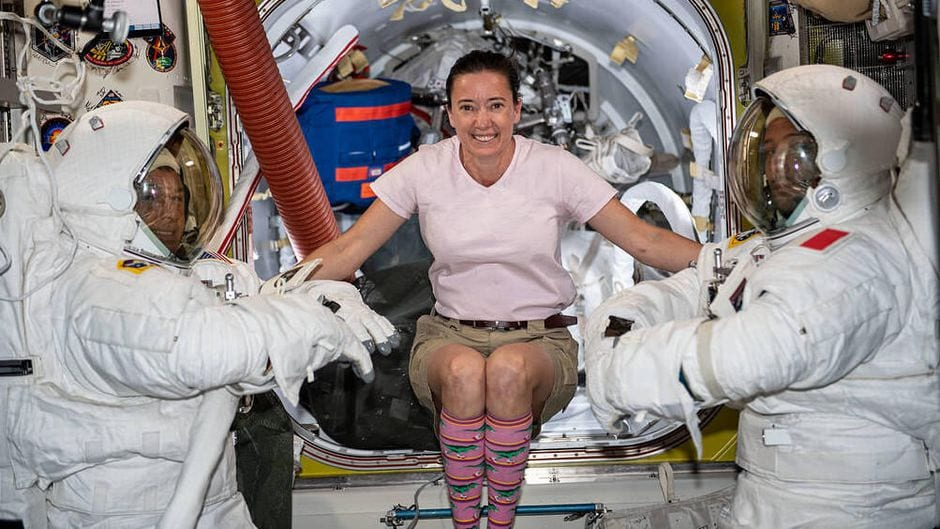 laundry in space