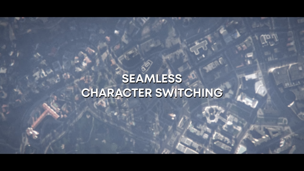 Seamless Character Switching
