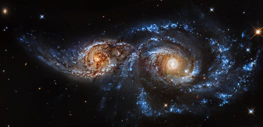 Milky Way Galaxy On A Collision Course?