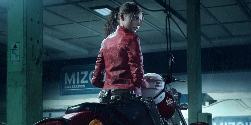 Resident-Evil-2-Claire-Redfield-Harley-Davidson