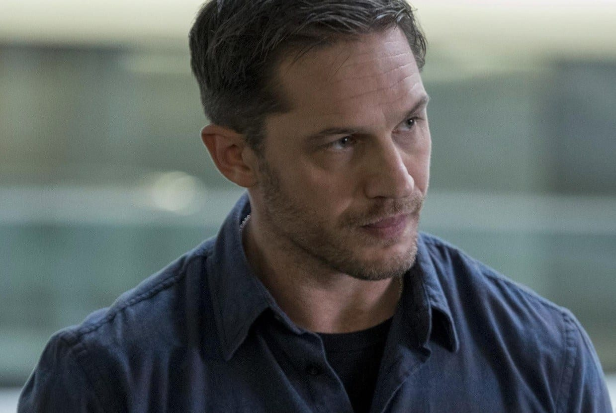 Tom Hardy as Eddie Brock in Venom