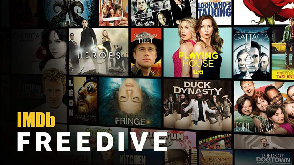 Amazon IMDb freedive