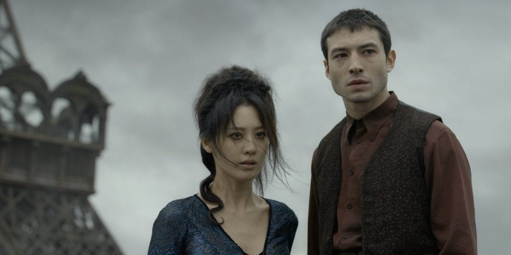 Credence & Nagini in Fantastic Beasts - The Crimes of Grindelwald