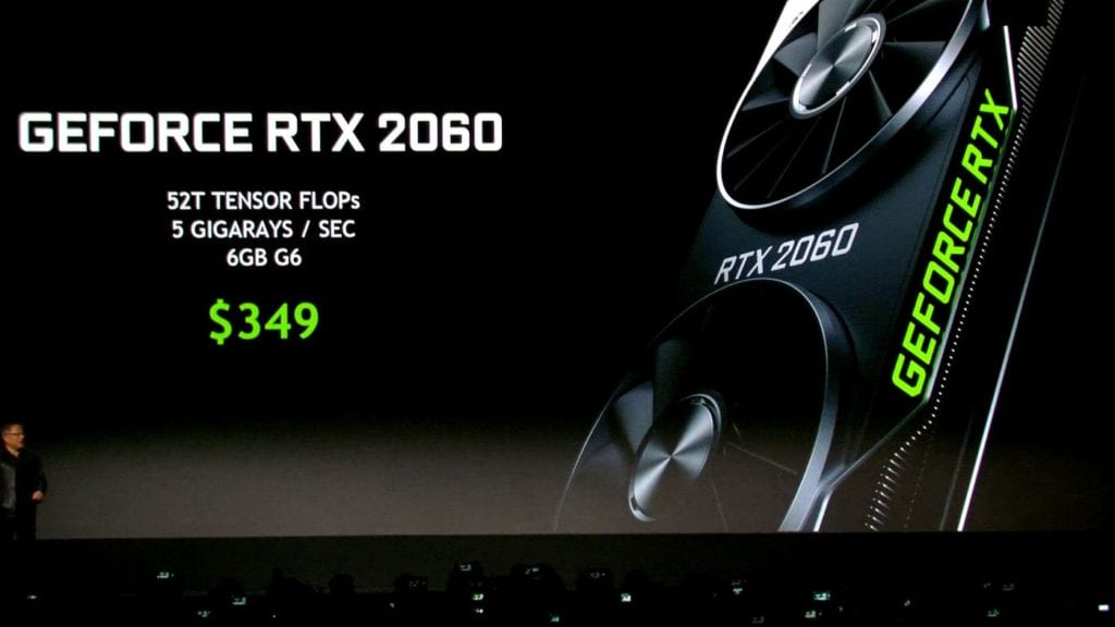 Nvidia GeForce RTX 2060 early Impressions and Benchmarks