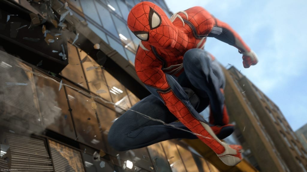 Spiderman, a PS4 exclusive