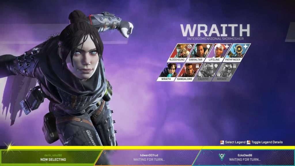 Apex Legends focuses on characters
