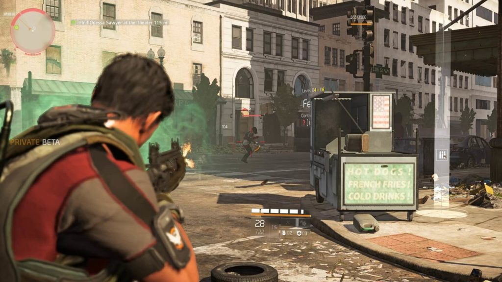 Gunplay in The Division 2